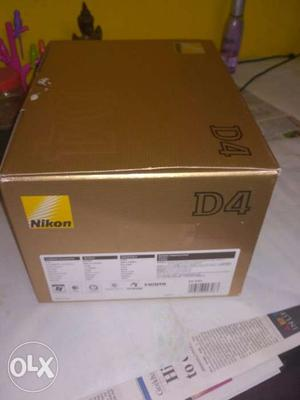 Nikon D4 With Very Good Condition Body Only