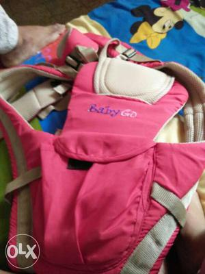 Red colour baby hanging bag