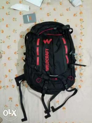 Wildcraft dris 35 black. Trekking bag. Fresh