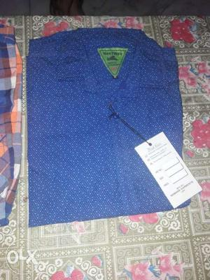 New Unused Cotton shirts for sale. L size 100 per