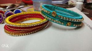 Unused bangles and home made