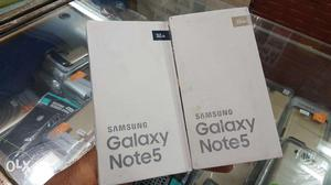 Samsung Galaxy Note5 Brand New Sealed Pack With bill With