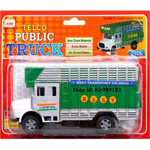 Telco Public Truck Diecast Pull Back Toy Truck /Car For Kids