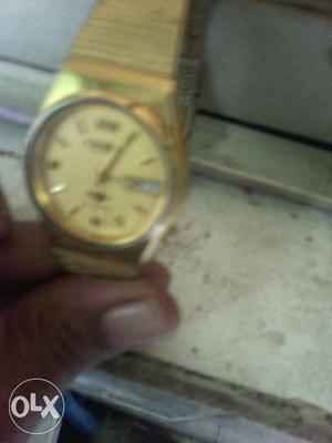 Citizen day/date automatic unused 21 jewels gold