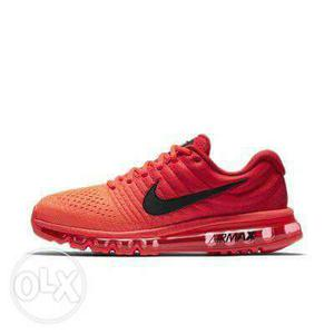 Unpaired Red Nike Air Max