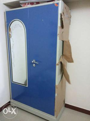 strong steel wardrobe for sale 3 months old