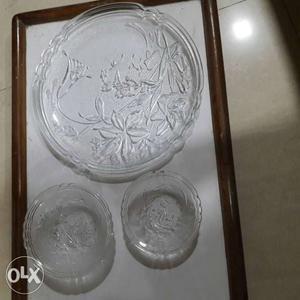 6 Plates, 6 big n 6 small bowls