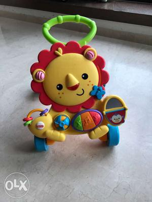 Fisher price baby walker in excellebt condition,