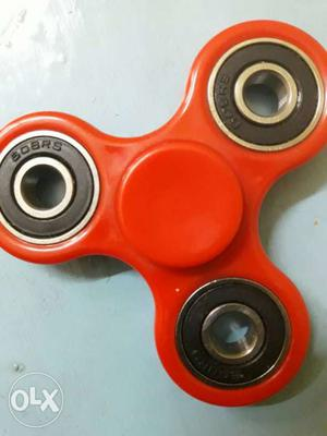 Red 3-blade Fidget Spinner