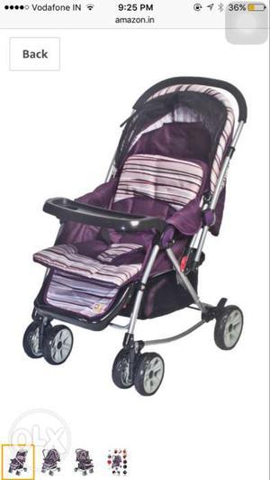 Baby's Purple And Black Stroller Screenshot