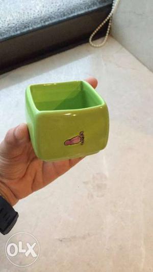Green Tea set. Imported. Unused. 1 kettle 4 cups