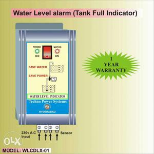Water level controller alarm. 1.its new product