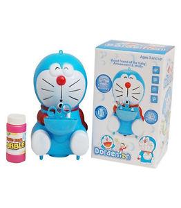 Automatic Musical Bubble Blowing Doraemon Bubble Toy Blow