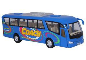 Kinsmart Coach Bus Die-cast Metal - Blue