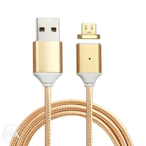 Magnetic Micro USB charger cable For Android Universal 2.4A