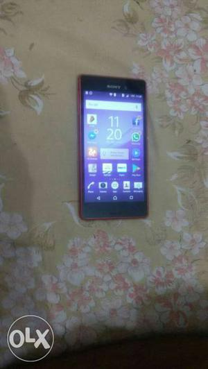 Sony m4 aqua water proof hai 6 month old bill