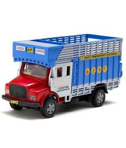 Telco Truck Diecast Pull Back Toy Blue, Red
