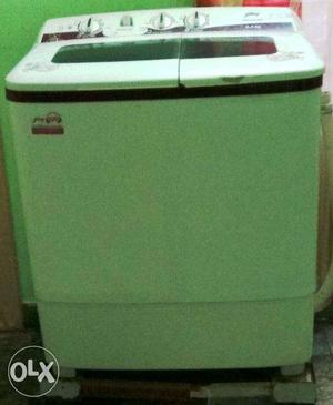 A Semi automatic Godrej Washing Machine for sale
