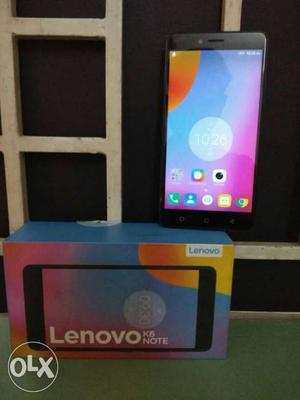 Lenovo K6 note Full kit Exchange or cash Note: