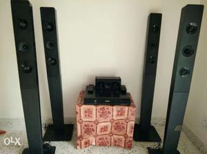 Philips tower speakers...everything functional