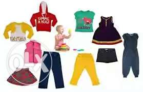All type of kids wear for 0 to 2 years