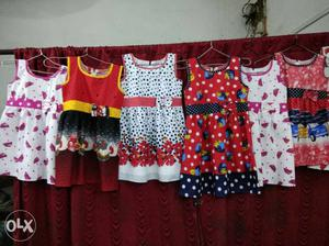 Assorted Sleeveless Dresses