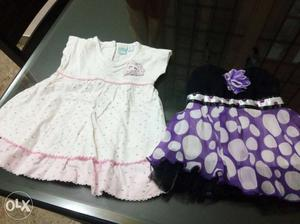 Baby frocks at give away price for 3 to 9 months