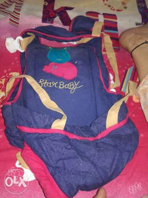 Blue And Red Star Baby Carrier