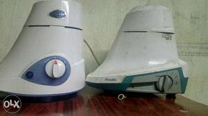 Blue leaf and preethi mixer grinder in good