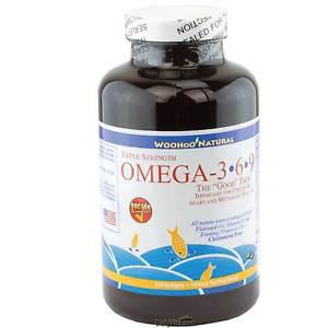 3X Strength Purified Omega 3-6-9 Fish Oil DHA EPA 990SG