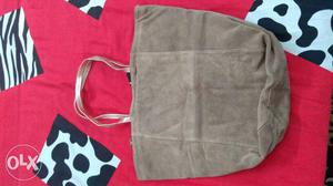 Brand New foreign brand pure leather tote bag