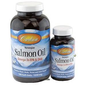 Carlson Norwegian Salmon Oil Omega-3s EPA & DHA