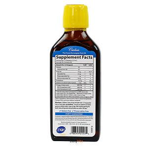Carlson for Kids The Very Finest Fish Oil 200 ml - Great
