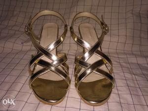 Fashion gold heels for women,This heel is first