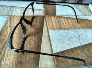 High quality Matte finish black eye frame