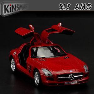 Mercedes-Benz SLS AMG, Scale 1:36, Kinsmart Diecast Pull