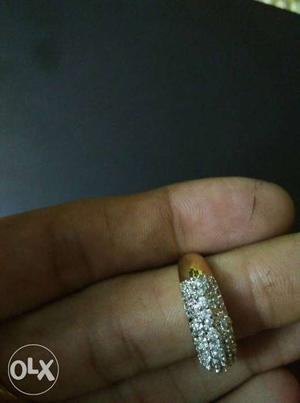 Rings with American Diamond 200/- per piece and 4