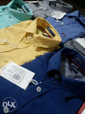 Arrow mufti spykar levies etc branded shirts rs.