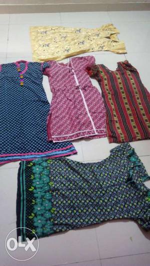 Five Assorted Dresses