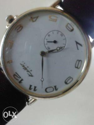 Kelibar Swiss made watch with side second.