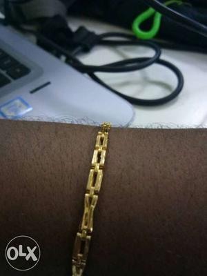 Original gold. hall mark 22 carat which is