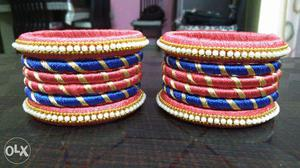 We make all kinds of silk thread jewellery like