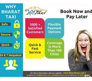Bharat Taxi provides Car Rental Services from Lucknow