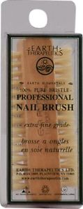 Earth Therapeutics Mani+Cure' Nail Brush -- 1 Brush