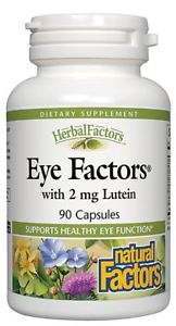Natural Factors Eye Factors' with 2 mg Lutein -- 90 Capsules