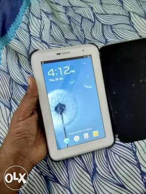 Samsung Calling Tab 2..sim Lagti Hai.. New