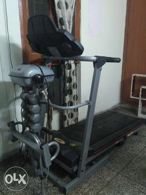 5 in 1 motorised excellent condition fitness