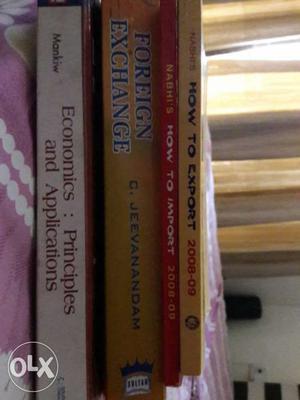 Books for MBA (Set of 4 Books) Economics: