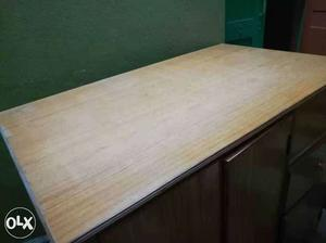 Brown Wooden cutting table for tailors Made with quality