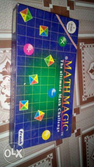Math Magic Board Game Box